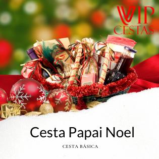 03 – Cesta de Natal bh Papai Noel