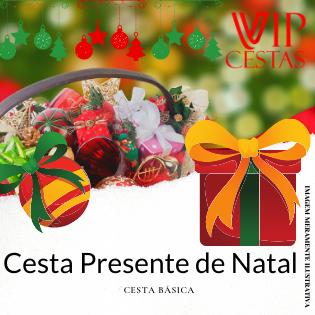 16 – Cesta de Natal bh Presente de Natal